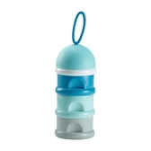 法國BEABA三層奶粉盒 便攜外出大容量奶粉格 密封罐 新生兒零食盒