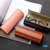 眼鏡盒眼鏡盒男女款創意個性墨鏡正韓小清新學生太陽鏡女簡約眼睛盒