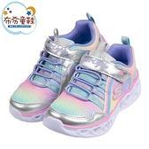 《布布童鞋》SKECHERS_Heart_Lights電燈幻彩紫兒童運動鞋(17~22公分) [ N1B08LF ]