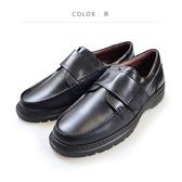 Waltz-「MIT」魔鬼氈柔軟紳士鞋 514040-02黑