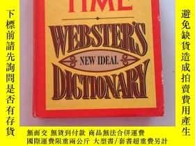 二手書博民逛書店presented罕見by time webster,s new ideal dictionary 由時代韋伯斯特