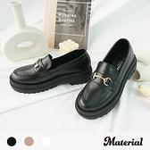 樂福鞋 時尚銜扣輕量鋸齒鞋 MA女鞋 T1892