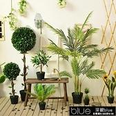 現貨 北歐大型綠植室內仿真植物天堂鳥龜背葉旅人蕉樹裝飾假花11-14【雙十一鉅惠】