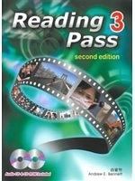 二手書博民逛書店《Reading Pass 3(第二版)(with audio CD and CD rom)》 R2Y ISBN:9861473580