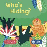 Slide Surprise:Who's Hiding? 推拉驚喜書:動物篇
