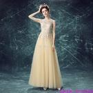 (45 Design) 訂製款 7天到貨禮法國蕾絲修身一字公主新娘婚紗禮服齊地蓬蓬顯瘦10