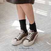 ★現貨★MIUSTAR 綁帶麂皮美式車標1888餅乾休閒鞋(共2色,35-39)【NG002161】
