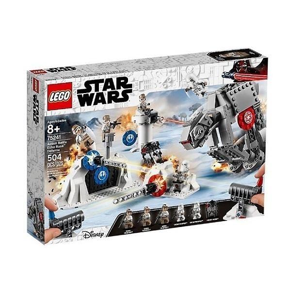 【南紡購物中心】【LEGO 樂高積木】星際大戰Star Wars系列-Action Battle Echo Base Defence75241