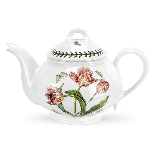 英國 Portmeirion Botanic Garden植物園系列 - 鬱金香1.1L花茶圓壺