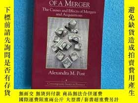 二手書博民逛書店Anatomy罕見Of A Merger : the canses and effects of mergers