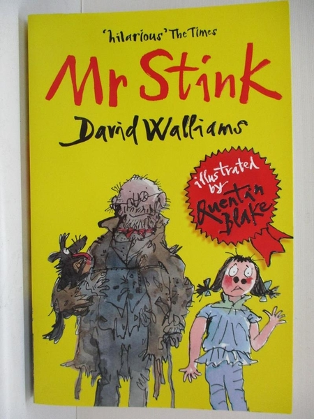 【書寶二手書T6/少年童書_BHI】Mr Stink_David Walliams