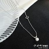 【Sayaka紗彌佳】純銀小清新風格邂逅甜心女孩珍珠鑲鑽項鍊