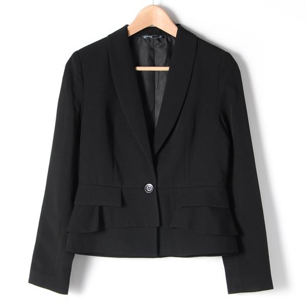 【MASTINA】蛋糕裙西裝外套-黑 下殺百元外套