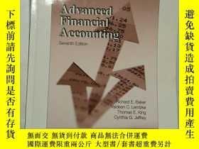 二手書博民逛書店英文原版罕見Advanced Financial Account