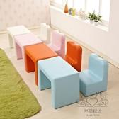 兒童沙發兒童小沙發可愛單人實木沙發椅百變小沙發可拆洗xw