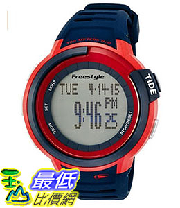 [106美國直購] Freestyle 手錶 Unisex 103182 B00DPE26WI Mariner Round Blue Yacht Timer LCD Watch