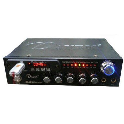 【中彰投電器】DAYEN家庭劇院(SD/USB)影音小型擴大機,AVX-5U【全館刷卡分期+免運費】