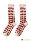 襪子女中筒襪純棉長筒襪日系秋冬堆堆襪長款全棉百搭【小獅子】