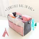 推車掛袋-擴充機能加大 防水雙拉式手提收納包 包中包 網狀收納包 嬰兒車整理包【AN SHOP】