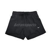 Nike 短褲 Flex Shorts 女款 黑 快乾 透氣 有內裡 兩件式 抽繩【ACS】 DA0454-011