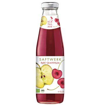 智慧有機體~德國有機酸櫻桃蘋果汁500ml/罐