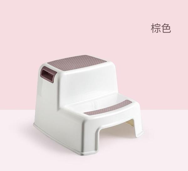 兒童洗手塑料防滑墊腳踩腳凳臺階凳子