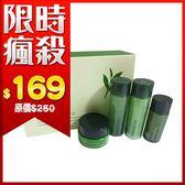 韓國 Innisfree 綠茶保濕精粹四件組 (平衡調理液 25ml*1 平衡乳液25ml*1 保濕精華15ml*1 保濕霜10ml*1)