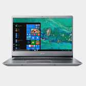 Acer Swift 3 SF314-56-54Q1 (銀) 14吋纖薄SSD筆電【Intel Core i5 8265U / 4GB記憶體 / 256GB SSD / Win 10】