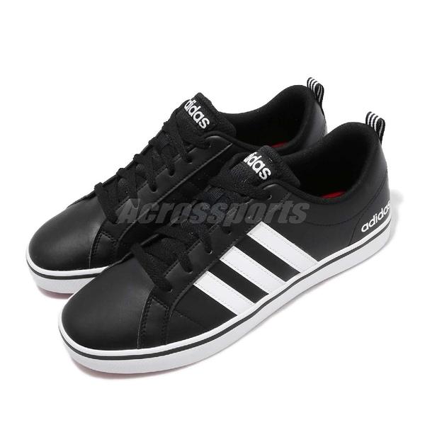 adidas 休閒鞋 VS Pace 黑 白 復古 基本款 黑白 男鞋 運動鞋【ACS】 B74494