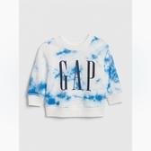 Gap男嬰做舊紮染徽標LOGO套頭衛衣547464-紮染