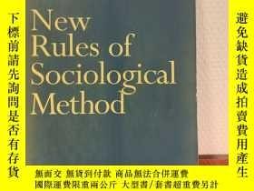 二手書博民逛書店New罕見Rules of Sociological Metho