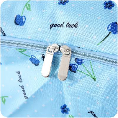 【全館5折】WaBao 牛津布帶提手視窗衣物棉被收納袋 整理袋 (中號) =D0B598=