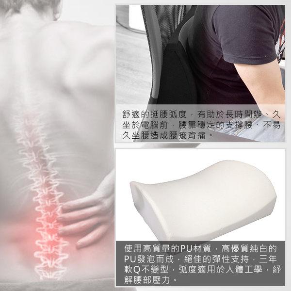 凱堡 獨家大和抗菌PU活動腰枕 舒壓靠墊/超取限1個【B01889】