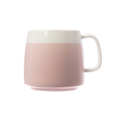 雙色馬克杯-櫻粉 420ml