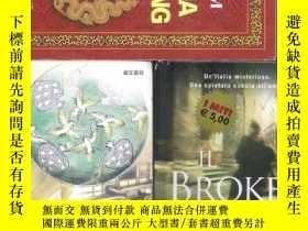 二手書博民逛書店|外文舊書|意大利語小說罕見IL Broker John Gri