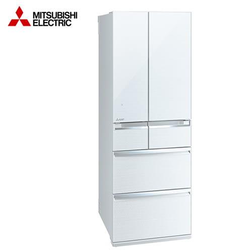 [MITSUBISHI 三菱]525公升六門變頻冰箱 水晶白 MR-WX53C-W