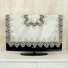 防塵罩現代簡約電視機罩家用掛墻電視蓋布蕾絲歐式55寸65寸電視防塵布小 新品