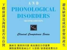 二手書博民逛書店Manual罕見Of Articulation And Phonological DisordersY2555