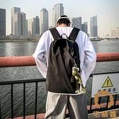 15.6寸筆電包背包防水後背包男女款書包大容量簡約輕便【宅貓醬】
