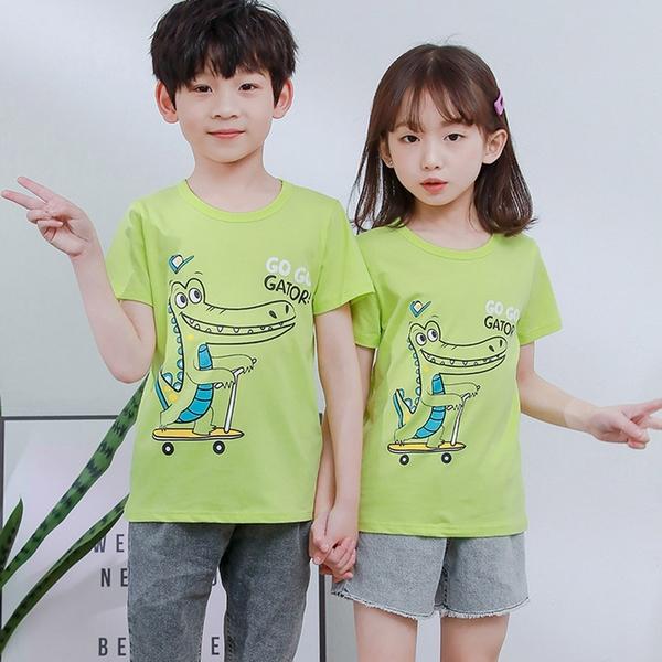 Baby童衣 多花色短袖衣服 居家服 棉T 兒童上衣 兒童T恤 88673