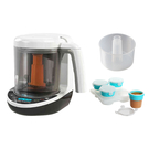 Baby brezza 副食品調理機料理機-數位版 送 原廠蒸鍋x1+2angels矽膠副食品儲存杯120mlx1