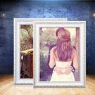 虧本衝量-相框-實木歐式相框6 7 12 16 18 20 24 30寸婚紗照片掛墻擺台畫框4KA3 快速出貨