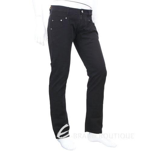 YES LONDON 休閒直筒長褲(黑色) 0820073-01