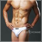 ELLE HOMME萊卡低腰三角褲/男內褲-灰《超值三件組》【中揚精品】E8523