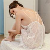 情趣睡衣 性感睡衣女夏性趣新款透明白色情趣內衣騷短秋冬蕾絲公主吊帶睡裙 非凡小鋪