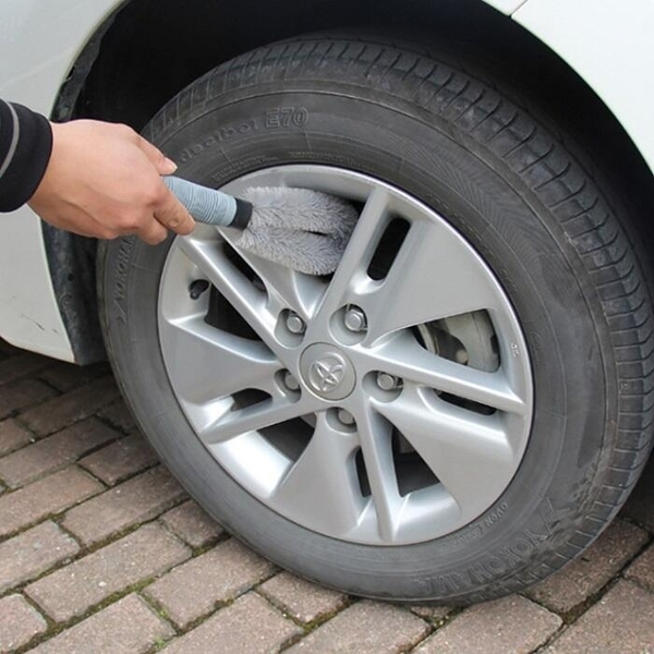 輪框清潔刷【NT146】車輪鋼圈洗車清洗 輪圈刷 輪框刷 汽車 鋁圈刷 鋼圈刷 洗車工具 美容