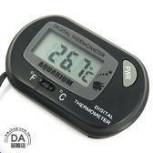 吸盤式 魚缸溫度計 水族箱 溫度計 LED顯示 內附電池 電子溫度計(16-150)