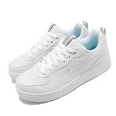 Skechers 休閒鞋 Sport Court 92 白 灰 女鞋 小白鞋 皮革 運動鞋【ACS】 149440WHT
