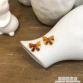 茶系古著風耳飾玳瑁色耳釘2020年新款潮耳環韓國氣質網紅高級感夾 極簡雜貨
