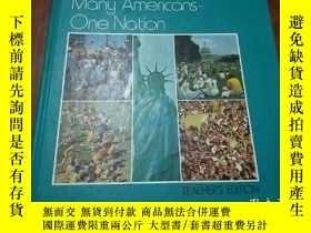 二手書博民逛書店BOWMAR罕見 NOBLE SOCIAL STUDIES Many Americans One Nation